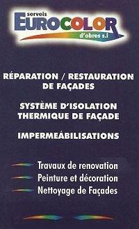Reparation restauration de facades